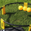 Photo of spikeball setup