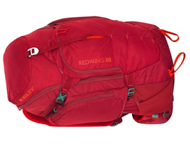 Photo of red hiking bag