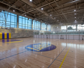 Photo of vacant east gym