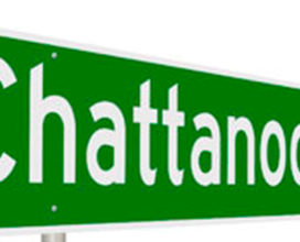 road sign for Chattanooga, Tennessee